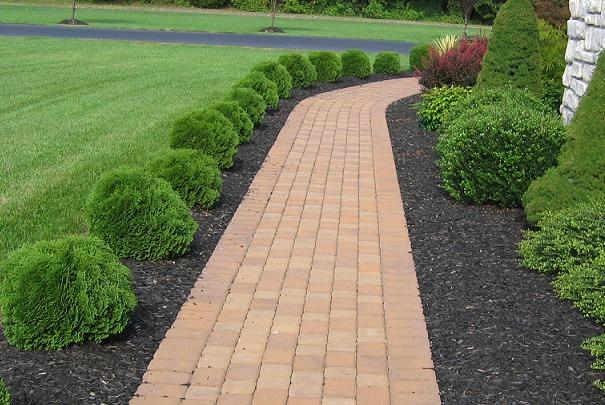 obtenir des allees de jardin impeccables sans mauvaises herbes With allee pour voiture dans jardin 15 exterieur spot encastrable bleue dans eclairage exterieur